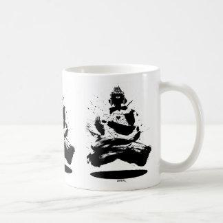 emek_buddha_mug classic white coffee mug