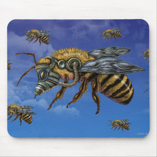 emek_honeybee_mousepad mouse pads