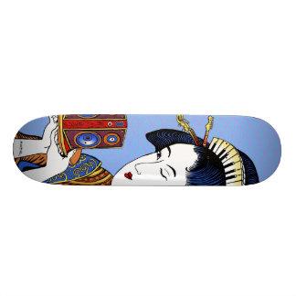 """Emek """"Japanese Music Lady"""" Skateboard"""