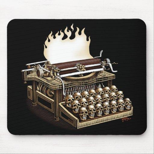 emek_keyboardofdeath_mousepad mouse pads