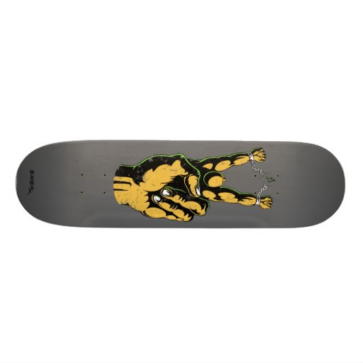 "Emek ""Peace"" Skate Board Deck"