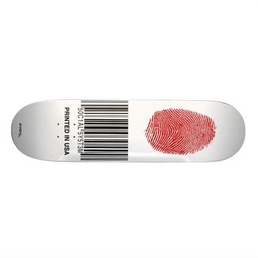 "Emek ""Printed"" Custom Skateboard"