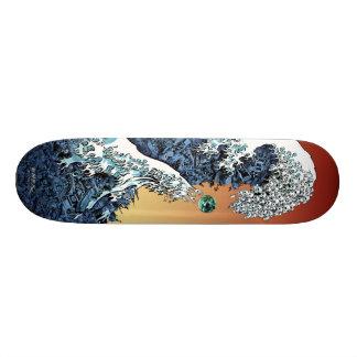 """Emek """"Wave"""" 19.7 Cm Skateboard Deck"""