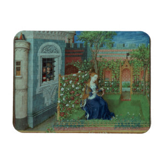 Emelye in her garden. The imprisoned knights Palam Rectangular Photo Magnet
