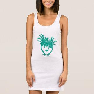 Emeral Teal Green Palm Tree Beach Wedding T-SHIRT