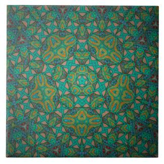 Emerald Amazon Rainforest Tile