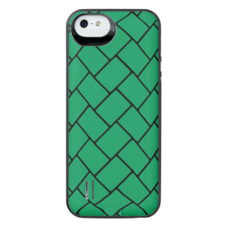 Emerald Basket Weave 2 iPhone SE/5/5s Battery Case