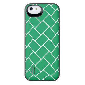 Emerald Basket Weave iPhone SE/5/5s Battery Case