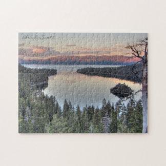 Emerald Bay Lake Tahoe Jigsaw Puzzle