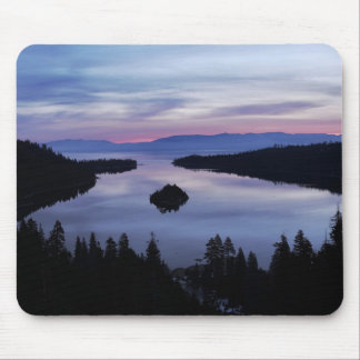 Emerald Bay Sunrise, Lake Tahoe... Mousepads