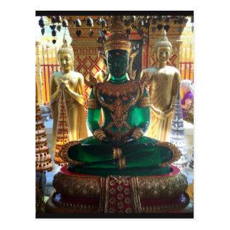 Emerald Buddha, Chiang Mai, Thailand Postcard