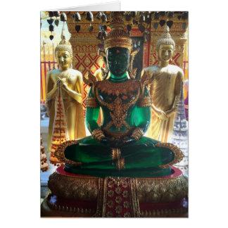 Emerald Buddha, Wat Doi Suthep, Chiang Mai Card