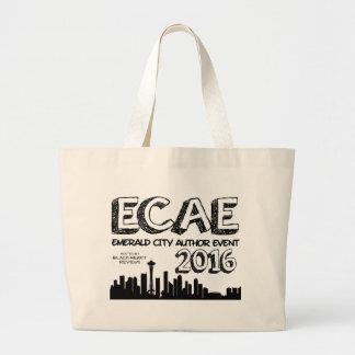 Emerald City Author Event 2016 - Jumbo Tote Jumbo Tote Bag