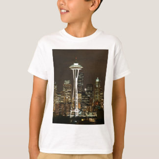Emerald City Seattle Washington Space Needle T-Shirt