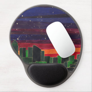 Emerald City Sunset Gel Mouse Pad
