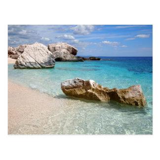 Emerald coast, Sardinia postcard