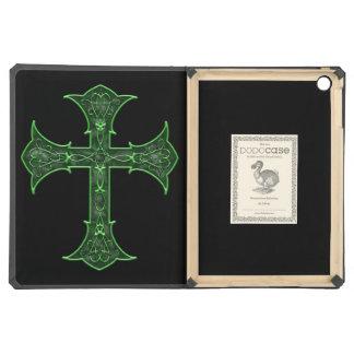 Emerald Cross iPad Air Cover