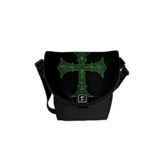 Emerald Cross Messenger Bags