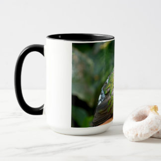 Emerald Dove Profile and Perch Mug