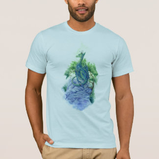 Emerald Dragon basic american apparel shirt