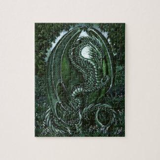 Emerald Dragon Puzzle