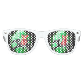 Emerald Enderdragon Party Sunglasses