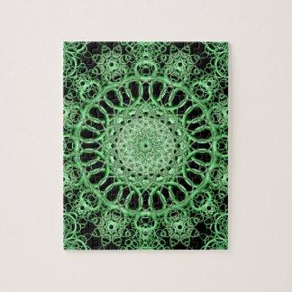 Emerald Eye Mandala Puzzle