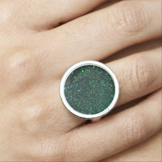 Emerald  Faux Glitter  Design