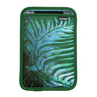 Emerald Feathering I iPad Mini Sleeves