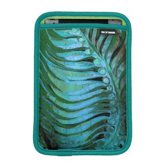 Emerald Feathering II iPad Mini Sleeves