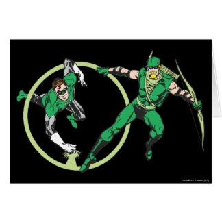 Emerald Gladiator & Emerald Archer Card