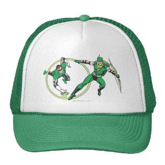 Emerald Gladiator & Emerald Archer Mesh Hats
