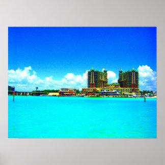 Emerald Grande Destin Florida hotel art print