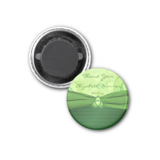 Emerald Green Celtic Loveknot Wedding Favor Magnet