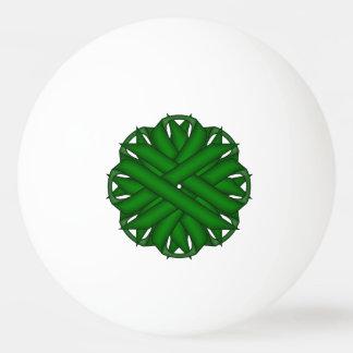 Emerald Green Flower Ribbon by Kenneth Yoncich