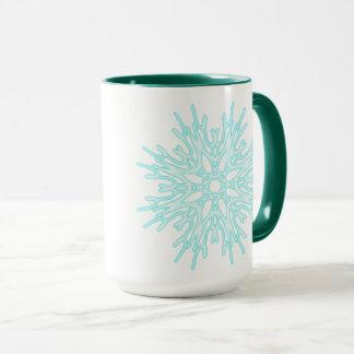 Emerald Green Frost ~ Mug