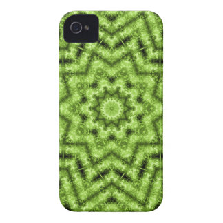 Emerald Green Geometric Star Blackberry Bold Case