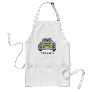 Emerald Green Nissan Figaro Car BBQ Apron