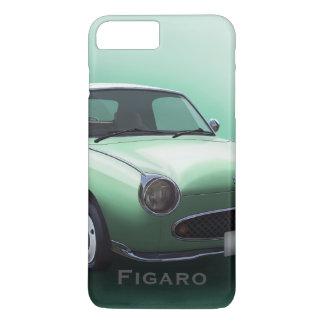 Emerald Green Nissan Figaro Car iPhone 8 Plus/7 Plus Case