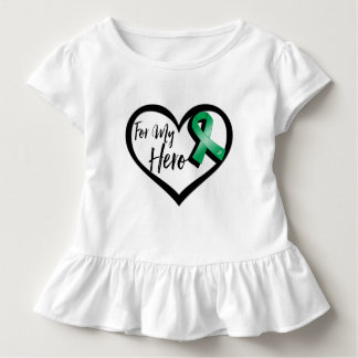 Emerald Green Ribbon For My Hero Tees