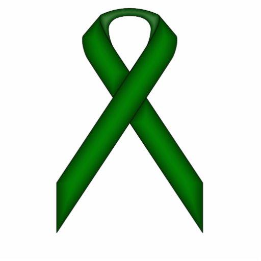 Emerald Green Standard Ribbon Photo Sculptures