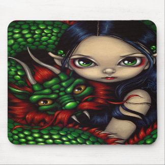 """Emerald Guardian"" Mousepad"