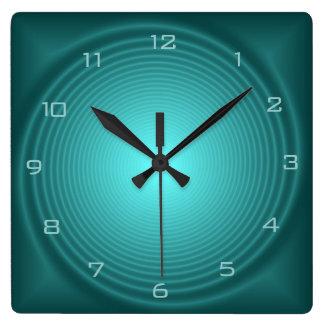 Emerald Illuminated Design> Patterned Wall Clocks