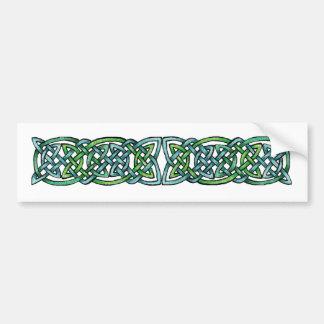 Emerald Labyrinth Bumper Sticker