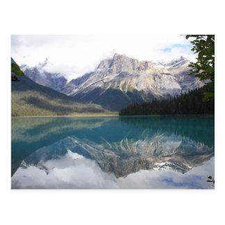 Emerald Lake, British Columbia, Canada Postcard