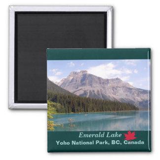 Emerald Lake/Yoho National Park, Canada Square Magnet