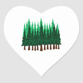 Emerald Love Heart Sticker