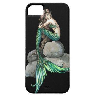 Emerald Mermaid Fantasy Art iPhone 5 Cases