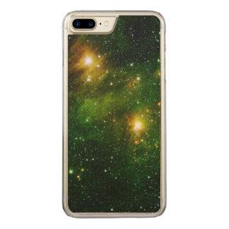 Emerald Nebula Carved iPhone 7 Plus Case
