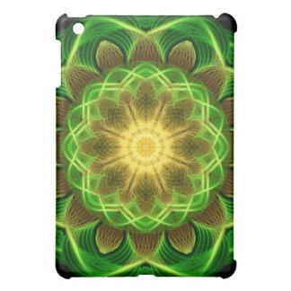Emerald Orb Mandala iPad Mini Covers